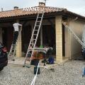 img Habillage des avant-toits en pvc/aluminium avec pose de gouttières aluminium